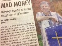 Mad Money: Worship leader to tackle tough issue of money